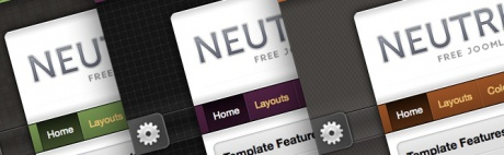 Neutrino Joomla 1.7 Template